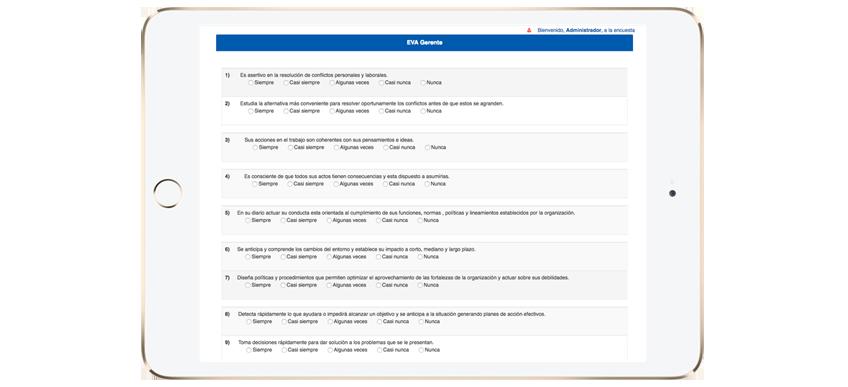 Presentación de Informes de Gestión por Software.